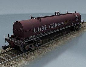 rail wagon 4 3D model