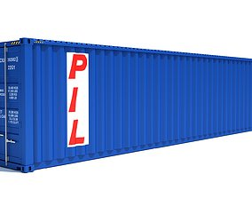 Shipping Container PIL 3D model