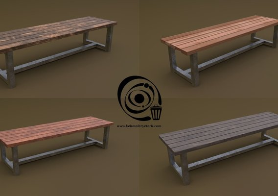Bench 05 4in1 - 4 Texture 1 Model R