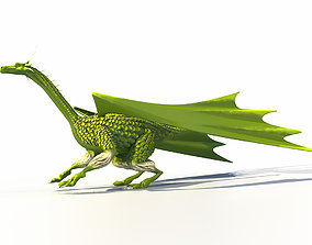 dragon model for printing on a 3D printer