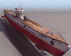 3D IX B submarine