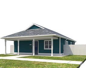House-064 roof 3D model