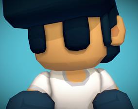 Boy - Smashy Craft Series 3D asset