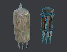 3D model Retro Vacuum Tube Asset