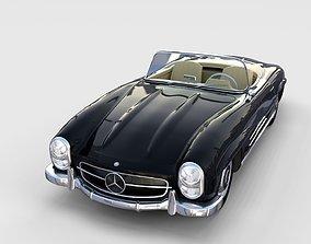 Mercedes 300SL Roadster W198 rev 3D