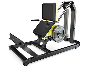 Technogym - Plate Loaded - Calf 3D