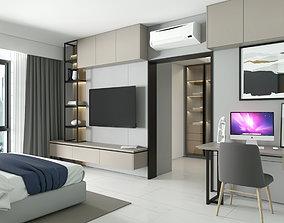3D model Design Master Bedroom