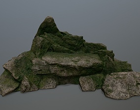 other rocks 3D model VR / AR ready