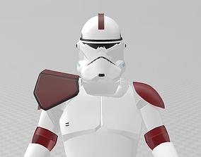 3D printable model Star Wars A-77 Captain Fordo ARC 4