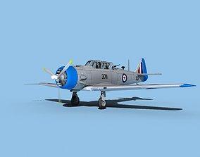 3D model North American AT-6 Texan V20 RAAF