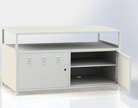 Metal cabinet 3D