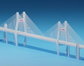 3D model Shanghai Nanpu Bridge