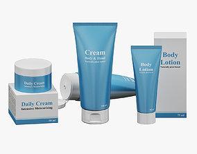 Creams Set 02 3D model