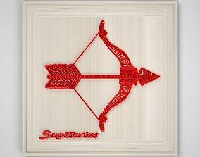Sagittarius Frame 3D asset