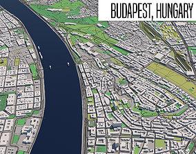 3D model Budapest