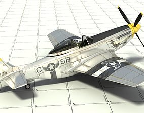 P-51D Fighter 3D