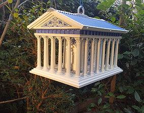 3D printable model Greek Temple Bird house