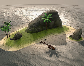3D model PirateCollection Island