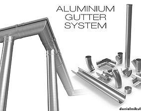 3D Aluminium Gutter System