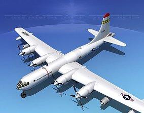 3D model Boeing KB-50 Superfortress Tanker V02