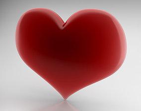 Heart Icon 3D model