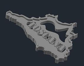 Regione Toscana 1 3D printable model
