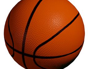 3D model game-ready basketball