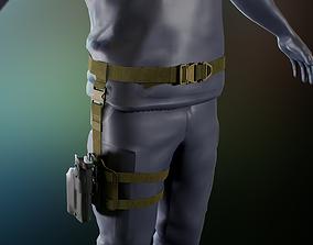 3D model Tactical belt