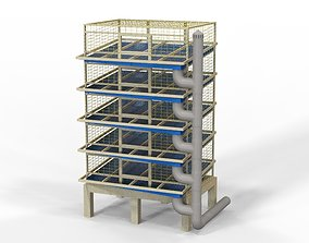 Low Cost Quail Cage 3D printable model