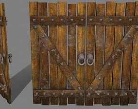Medieval Door 3D asset realtime