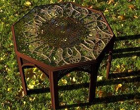 3D print model islamic table