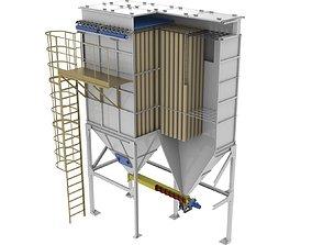 industrial filter sleeve 3D model
