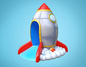 3D model Rocket slide