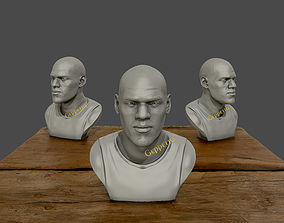 3D Sculpture of LeBron James