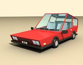 3D model game-ready CAR 1