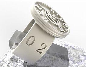 3D printable model Real Madrid Fan Ring Vintage Edition