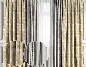 3D Curtain Set 125