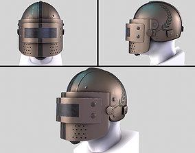 Helmet K6-3 3D model low-poly