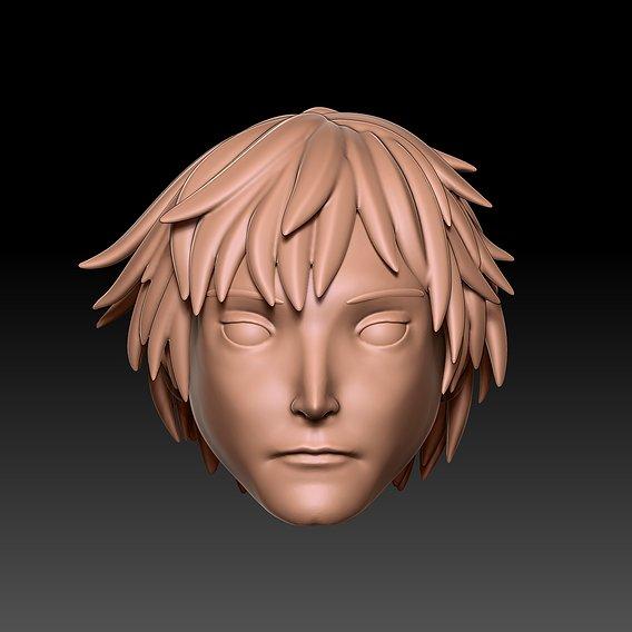 Sasori from Naruto Head Sculpt