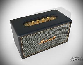 Marshall Stanmore speaker 3D asset