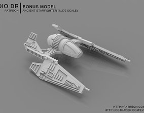 Ancient Starfighter 3D print model