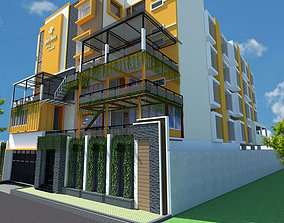 3D guest house container