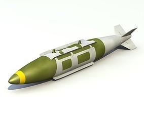 GBU-31 Mk 84 JDAM Bomb 3D model