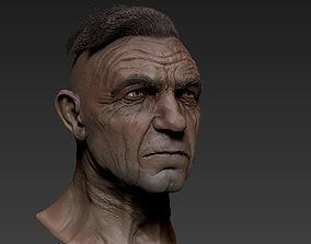 sculpt 3D model Old Man