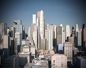 3D asset City 05