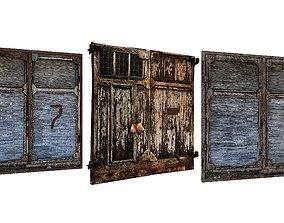 3D asset 3Model Factory Building Doors