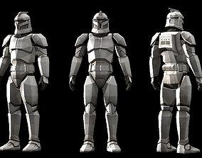 Low polygon Star wars 3D print model