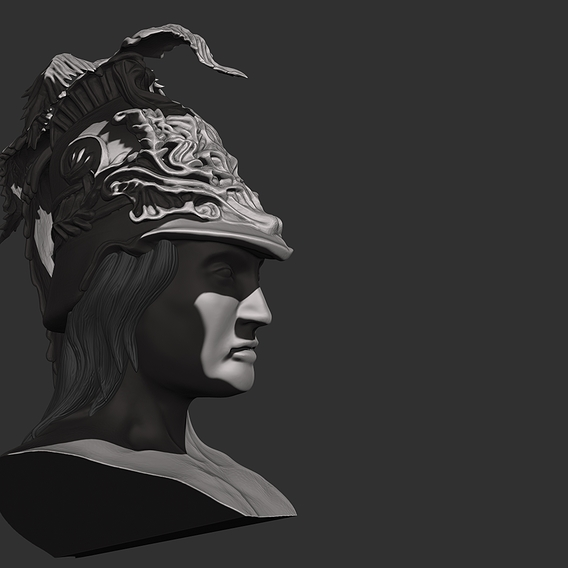 Headbust of Alhibiades