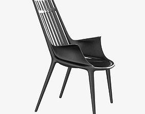 Vondom ibiza easy chair 3d model