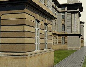 3D model Neoclassical Building